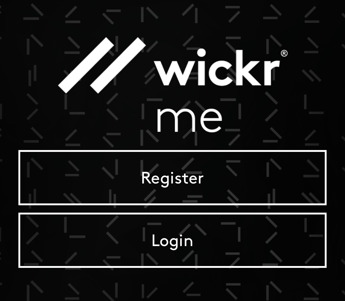 I can't sign into Wickr after registering – Wickr Inc