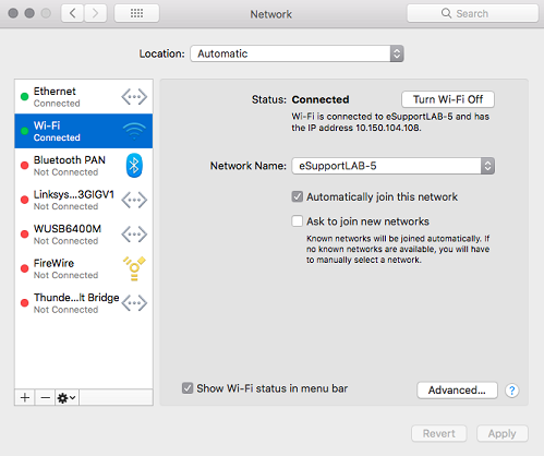 Disabling proxy settings on macOS – Wickr Inc